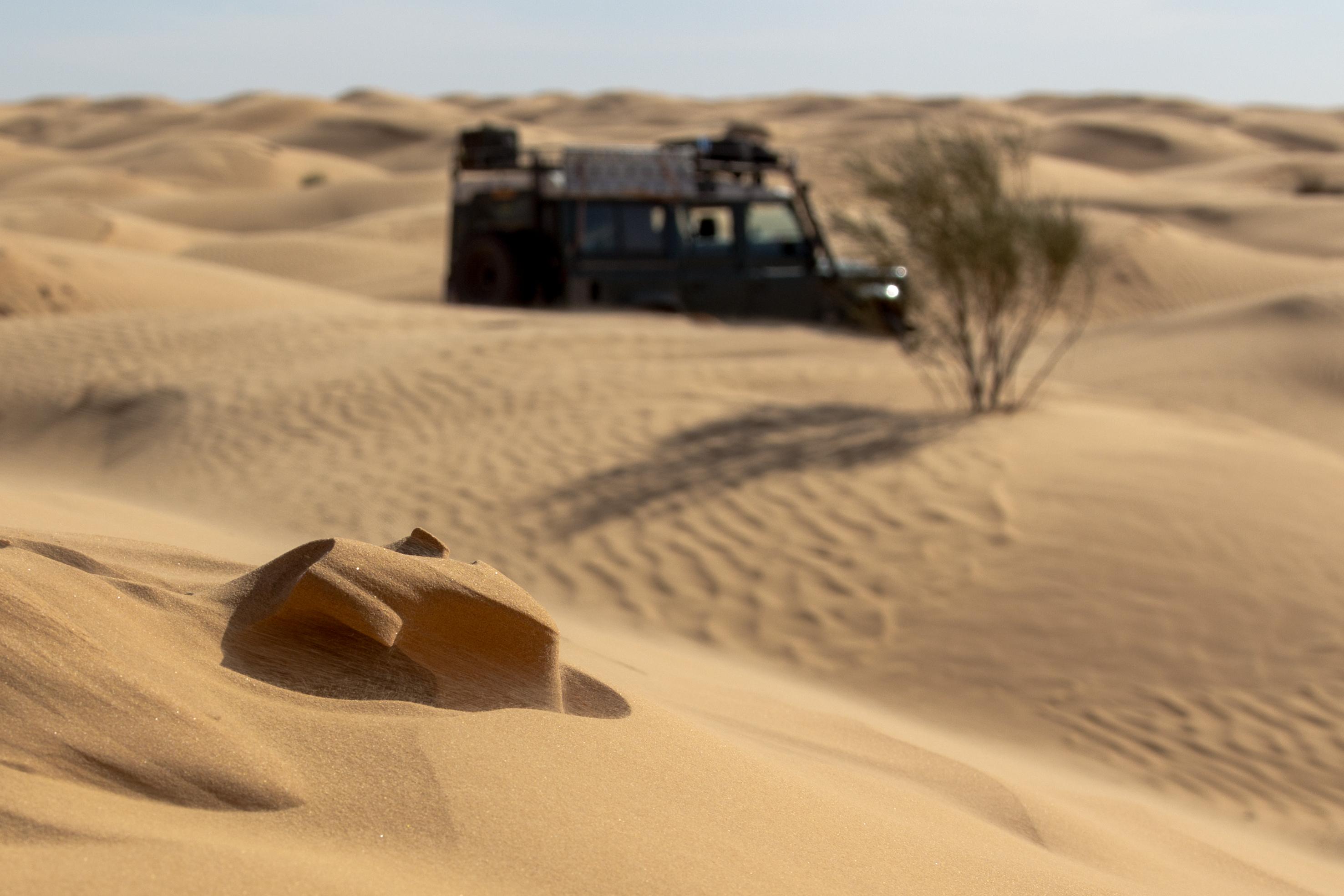 Drifting dune