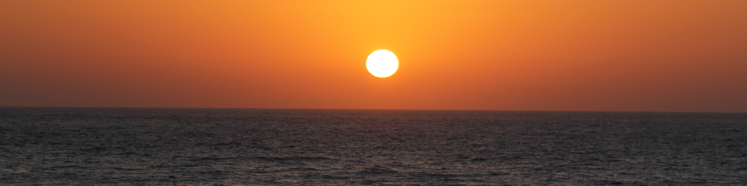 Sunset in the Red Sea
