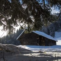 The Garmisch region is an enchanted winter wonderland