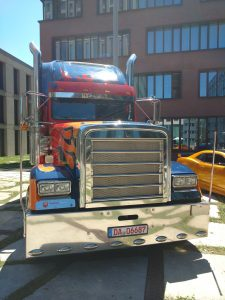 Optimus Prime in Munich