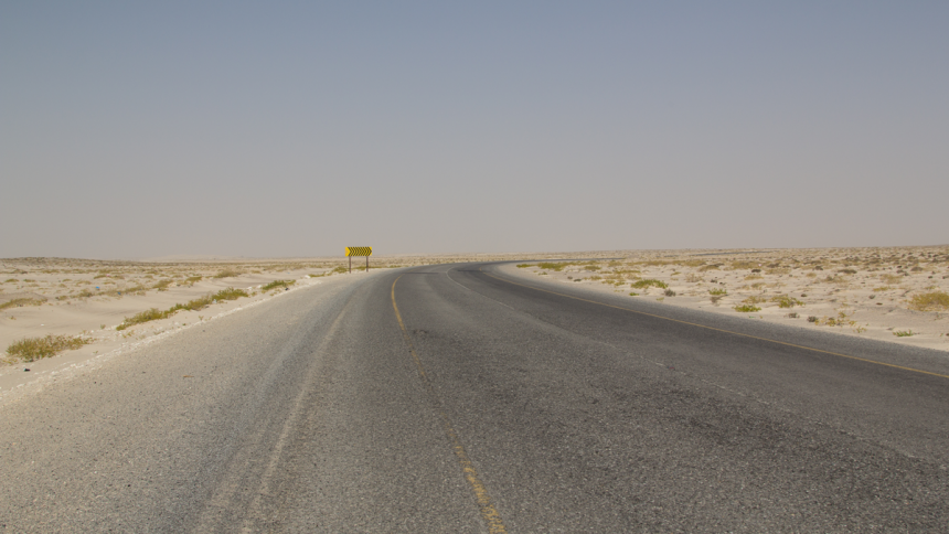 Road from Sur via Ras al Hadd