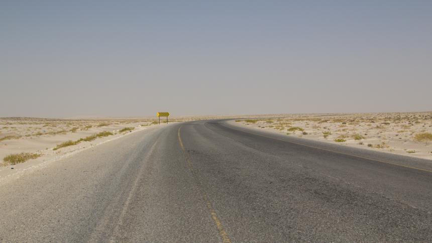 Road from Sur via Ras al Hadd