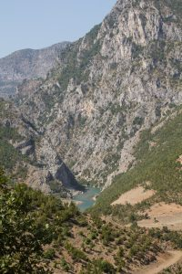 The stunning view on the Drin river